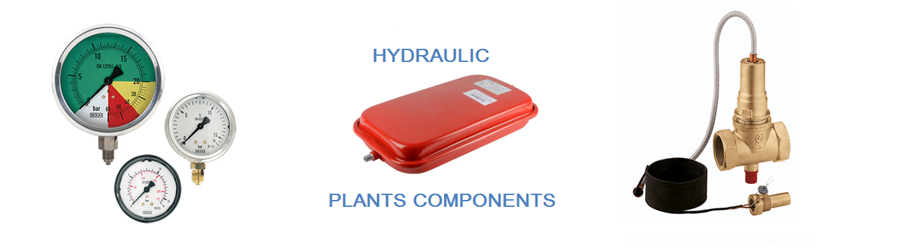 Hydraulic plants components